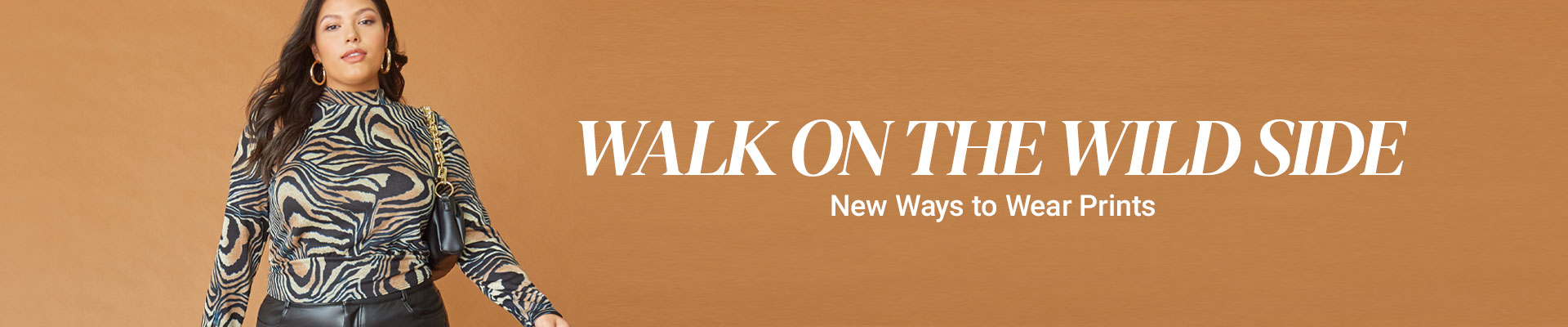 WALK ON THE WILD SIDE | New Ways to Wear Prints